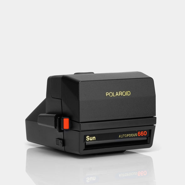 Refurbished Polaroid 600 Camera - Sun660 Autofocus