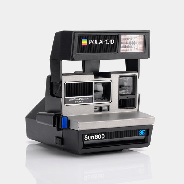 Polaroid 600 Silver LMS Blue SE Instant Film Camera