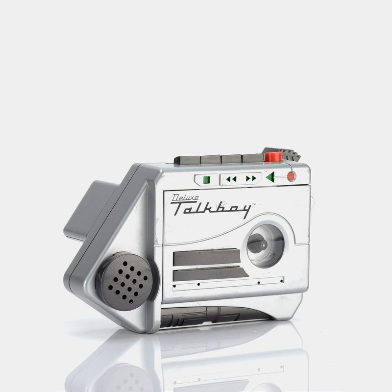 Deluxe Talkboy Portable Cassette Player
