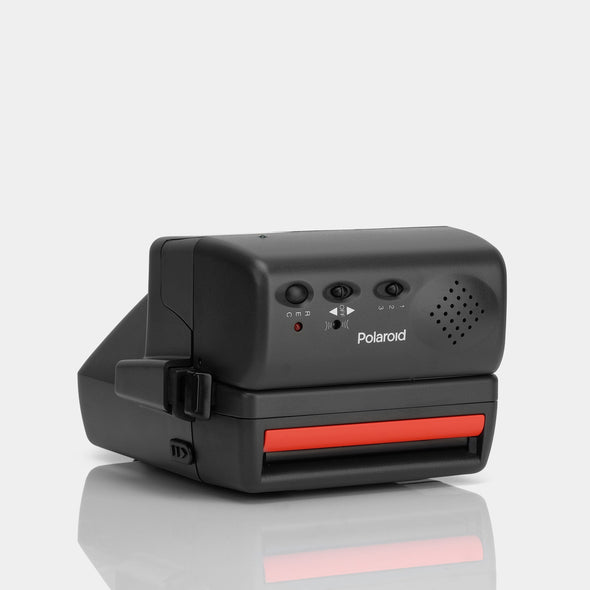 Polaroid 600 Camera - Red Talking Cam
