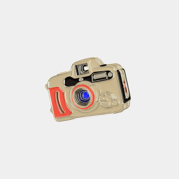 Waterproof Canon WP-1 A-1 Camera Enamel Pin