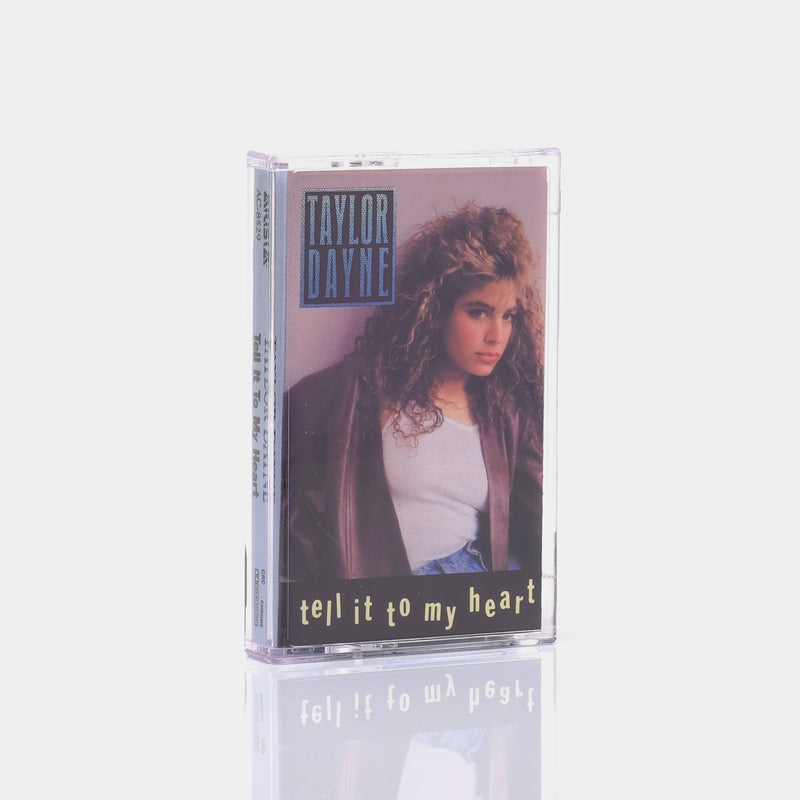 Taylor Dayne - Tell It To My Heart (1987) Cassette Tape