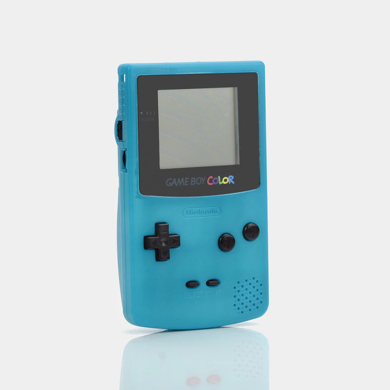 Nintendo Game Boy Color Teal Game Console