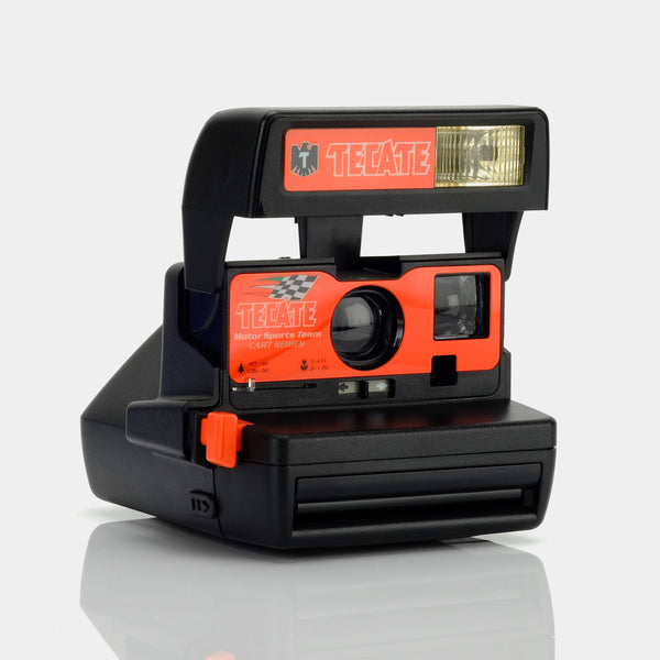 Polaroid Tecate Racing 600 Camera
