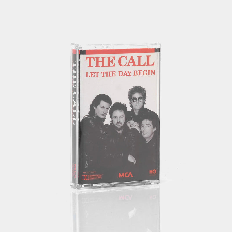 The Call - Let The Day Begin (1989) Cassette Tape