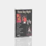 Three Dog Night - Live (1988) Cassette Tape
