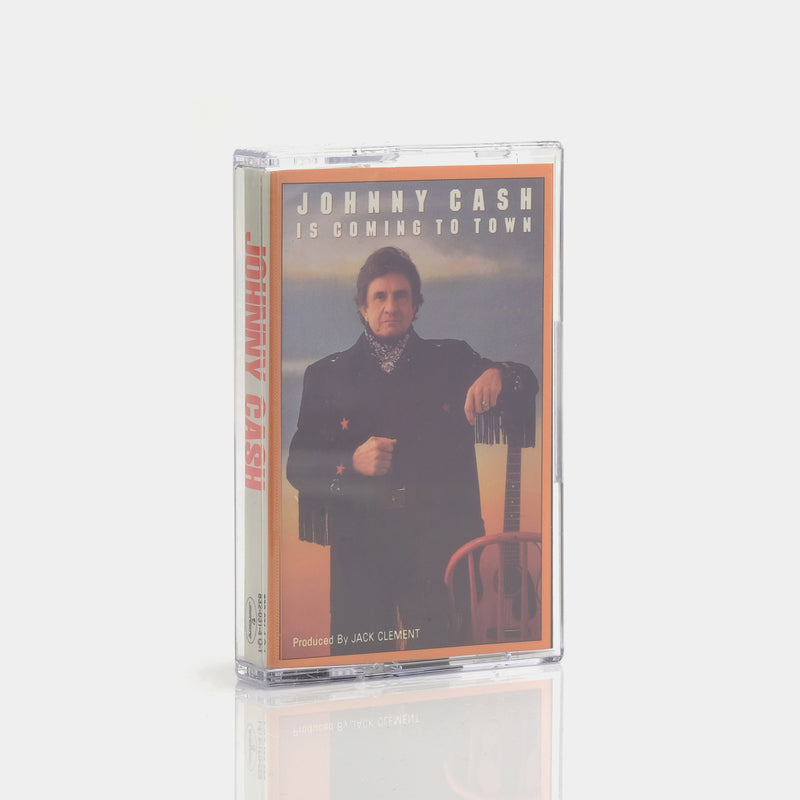 Johnny Cash - Johnny Cash Is Coming To Town (1987) Cassette Tape
