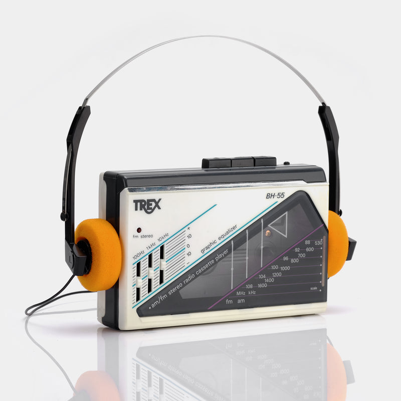 Trex BH-55 Portable Cassette Player