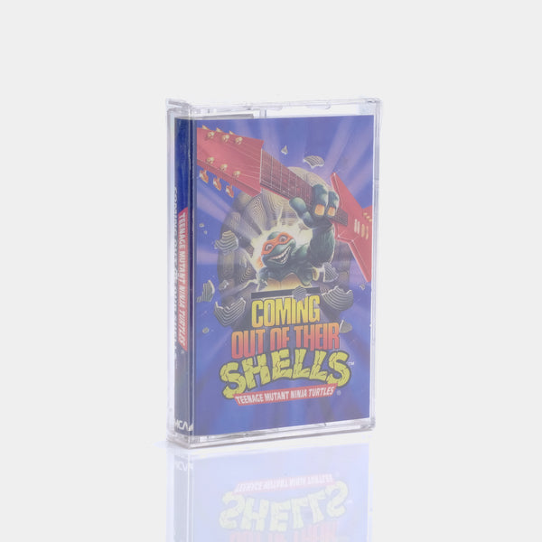 Coming Out of Their Shells - Teenage Mutant Ninja Turtles (1990) Cassette Tape