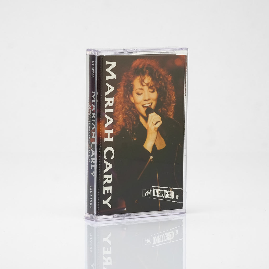 Mariah Carey -  MTV Unplugged EP (1992) Cassette Tape