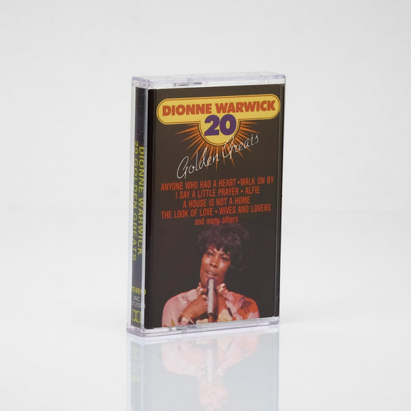 Dionne Warwick - 20 Golden Greats (1983) Cassette Tape