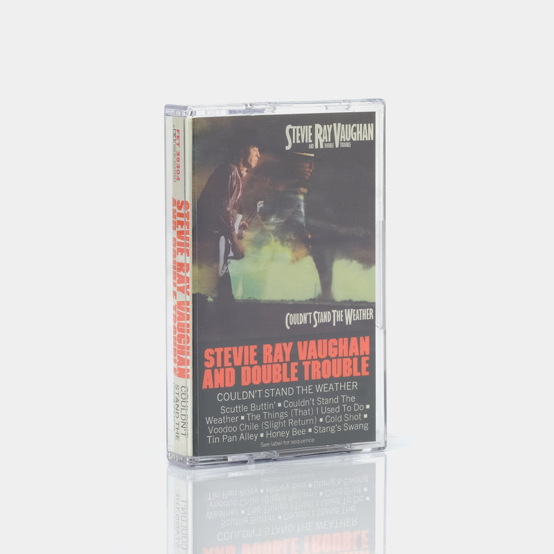 Stevie Ray Vaughan And Double Trouble - Couldn't Stand The Weather (1984) Cassette Tape