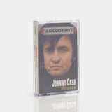 Johnny Cash - 16 Biggest Hits Vol II (2001) Cassette Tape