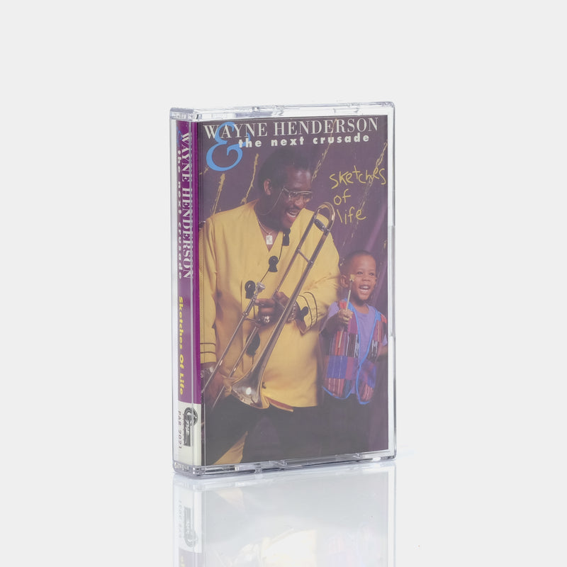 Wayne Henderson & The Next Crusade - Sketches Of Life (1993) Cassette Tape