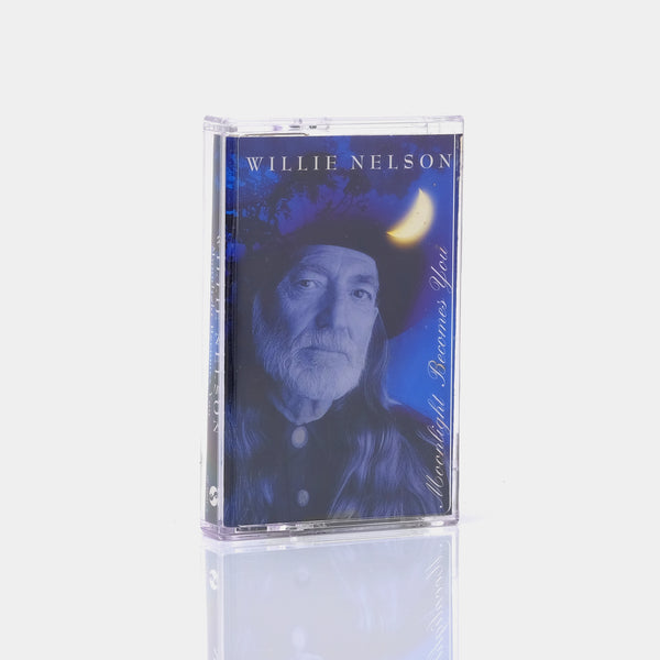 Willie Nelson - Moonlight Becomes You (1993) Cassette Tape