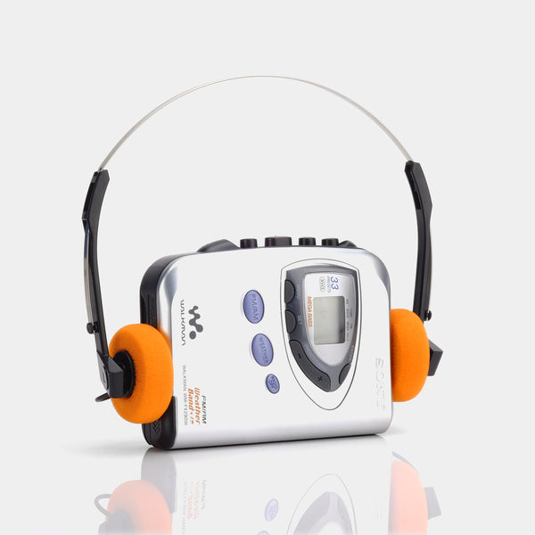 Sony Walkman WM-FX290/FX290W AM/FM Portable Cassette Player
