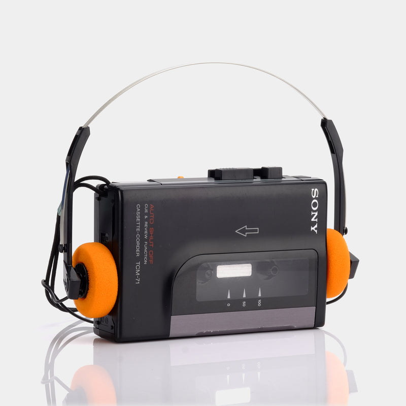 Sony Walkman TCM-71 Portable Cassette Player