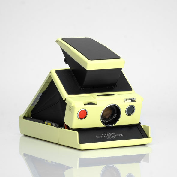 Polaroid SX-70 Camera - Pale Yellow