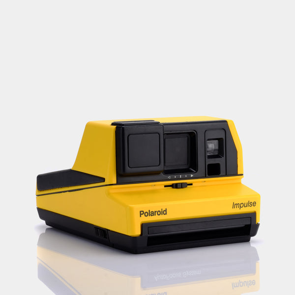 Polaroid 600 Impulse Yellow Instant Film Camera