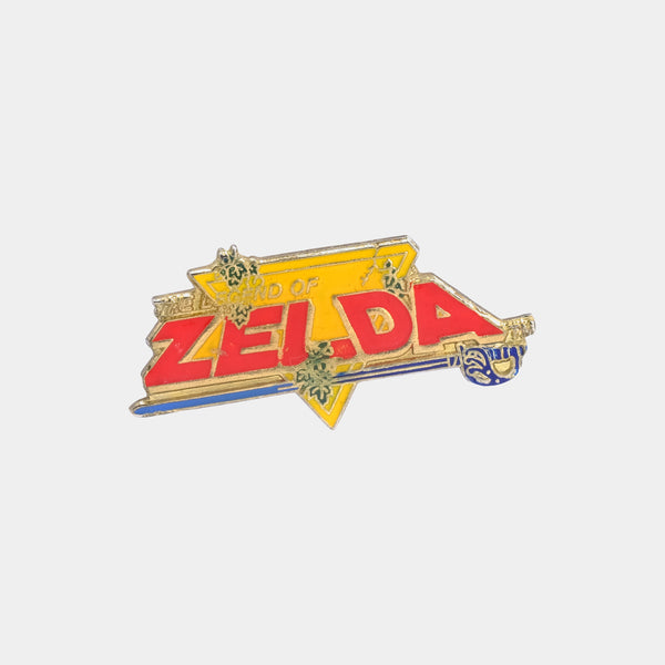 Nintendo Legend of Zelda 1988 Vintage Enamel Pin