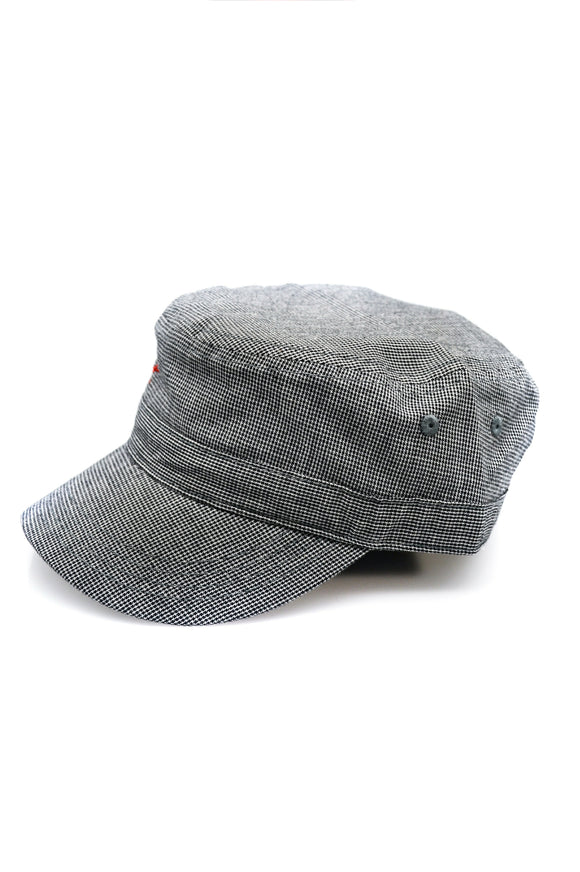Military Hat - Gray