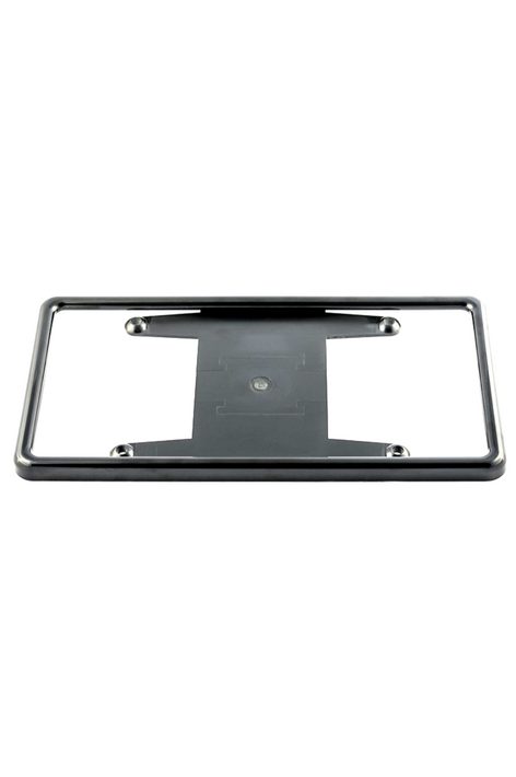 Black Tabless License Plate Frame