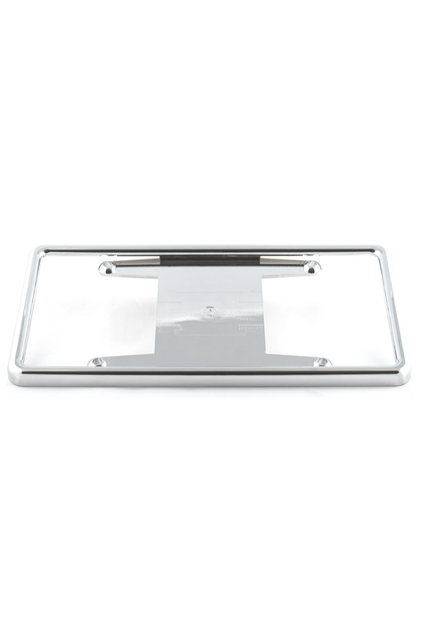 Chrome Tabless License Plate Frame