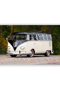 65 VW Bus Poster