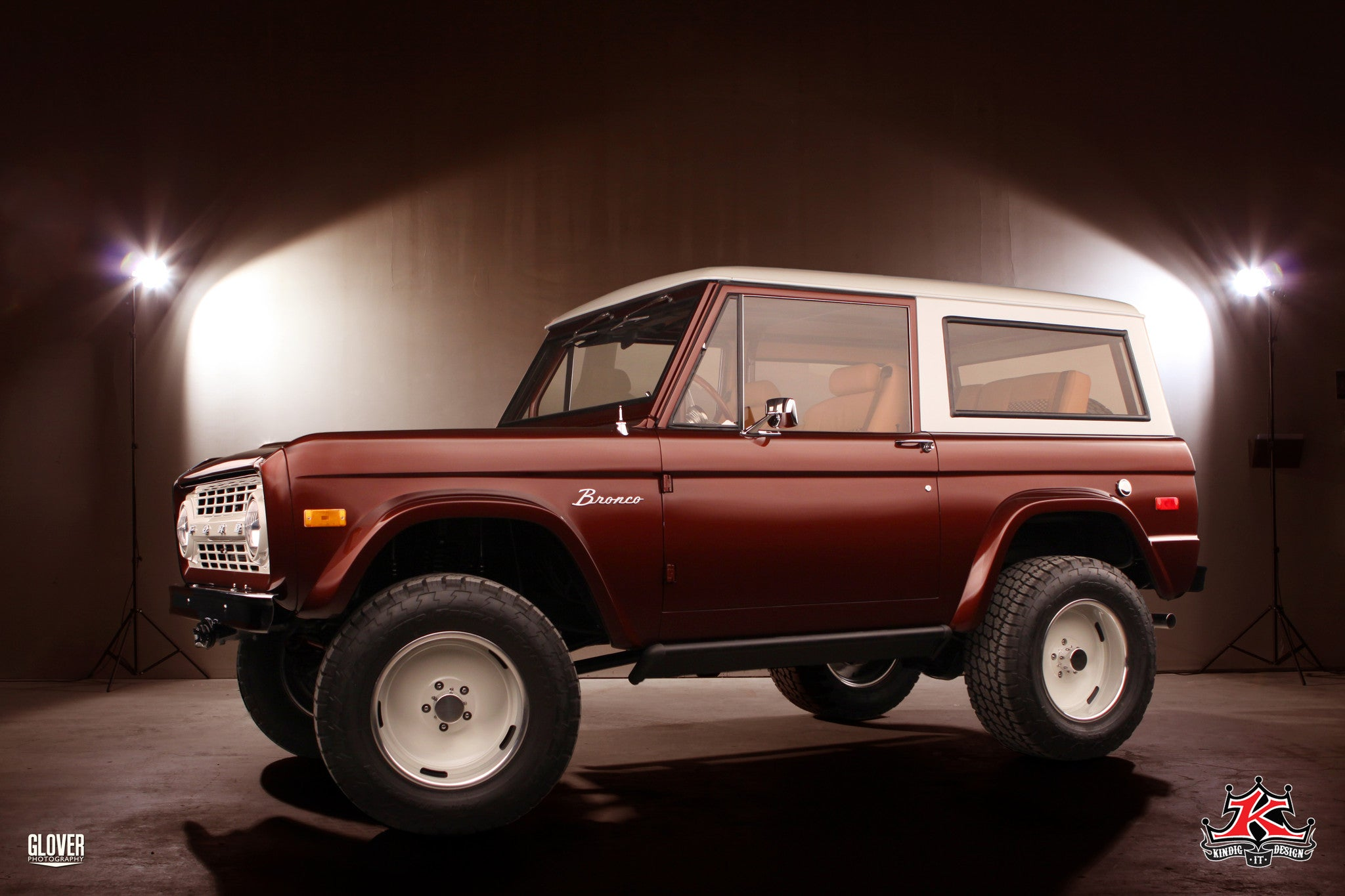 72 Bronco Poster