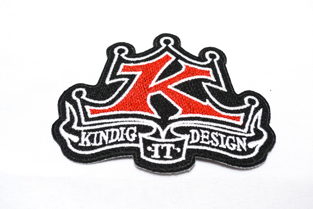 Kindig It Design Logo >> Classic Logo Embroidered Patch Kindig It Design