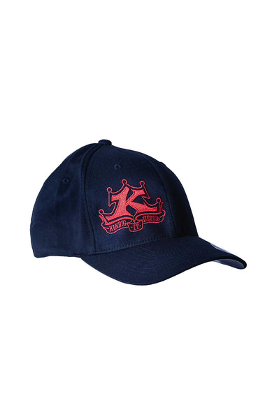 Red Logo Black Hat Regular Bill