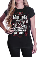 Women's Good Things Happen T-Shirt