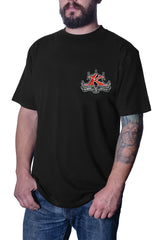 Men's Super Nova Black T-Shirt