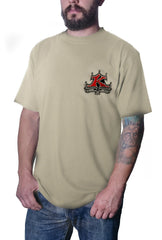 Men's Roadster Tan T-Shirt
