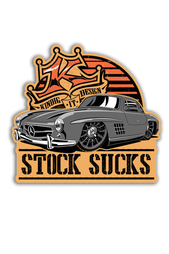 Sticker - Stock Sucks