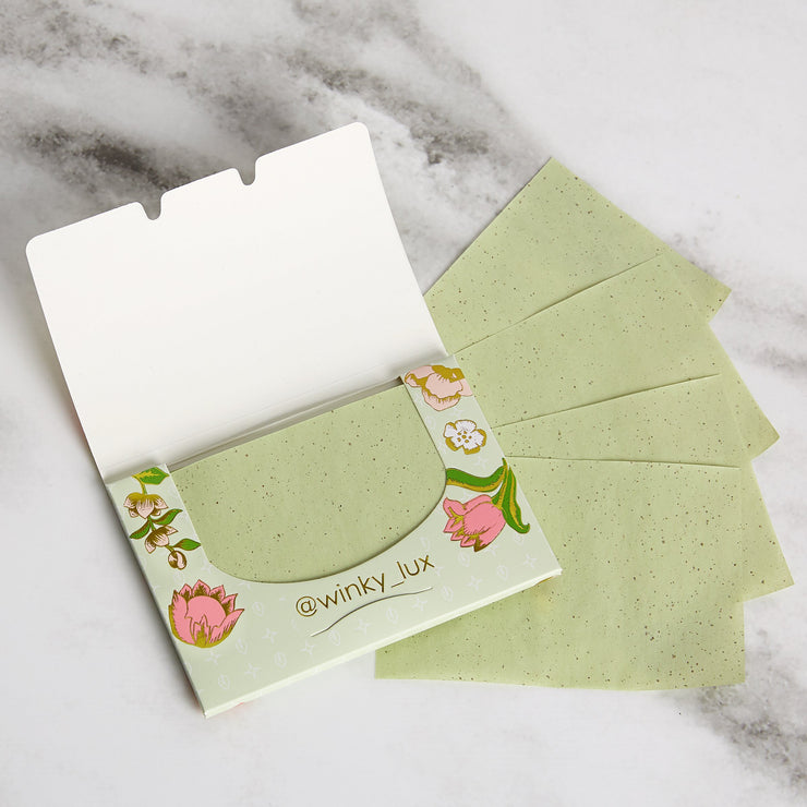 Winky Lux Face Matcha Blotting Papers