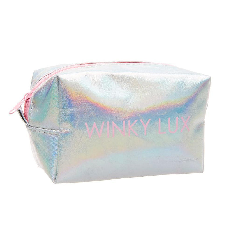 Winky Lux Free Gift Holographic Make Up Bag - Free Gift With Purchase