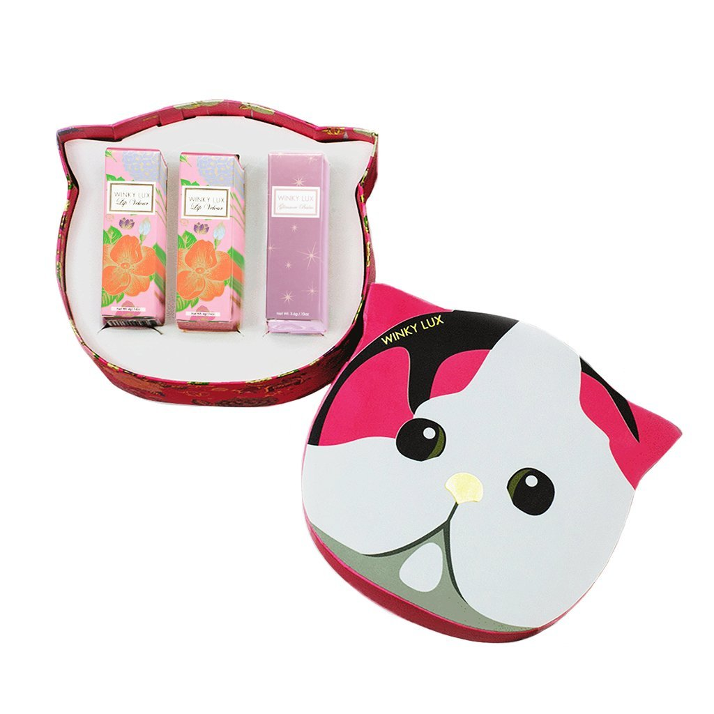 Winky Lux Gift Set Chic Kitty Box