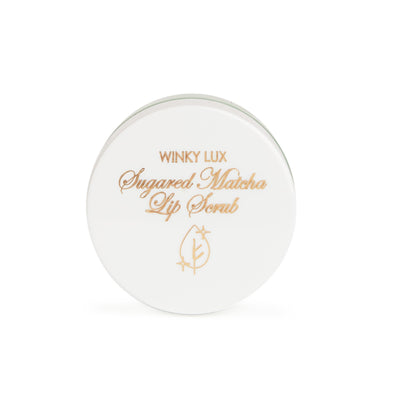 Winky Lux Lip Scrub Sugared Matcha Lip Scrub