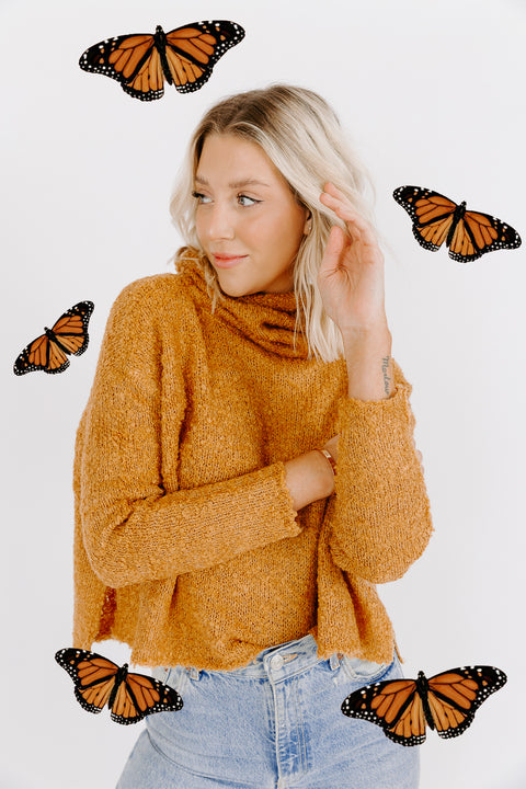 SPICE SLOUCHY SWEATER