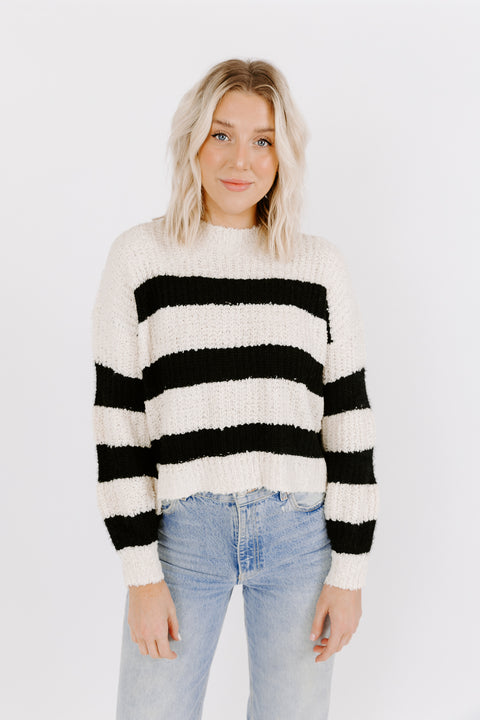 BANDIT KNIT SWEATER