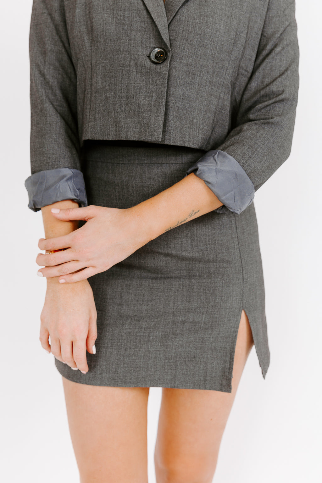 THE LANNY SUIT SKIRT