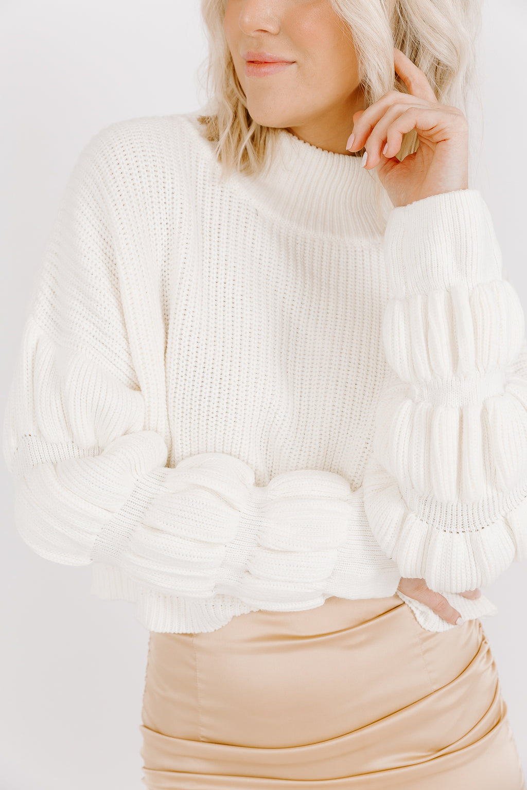 THE OPAL CROP SWEATER