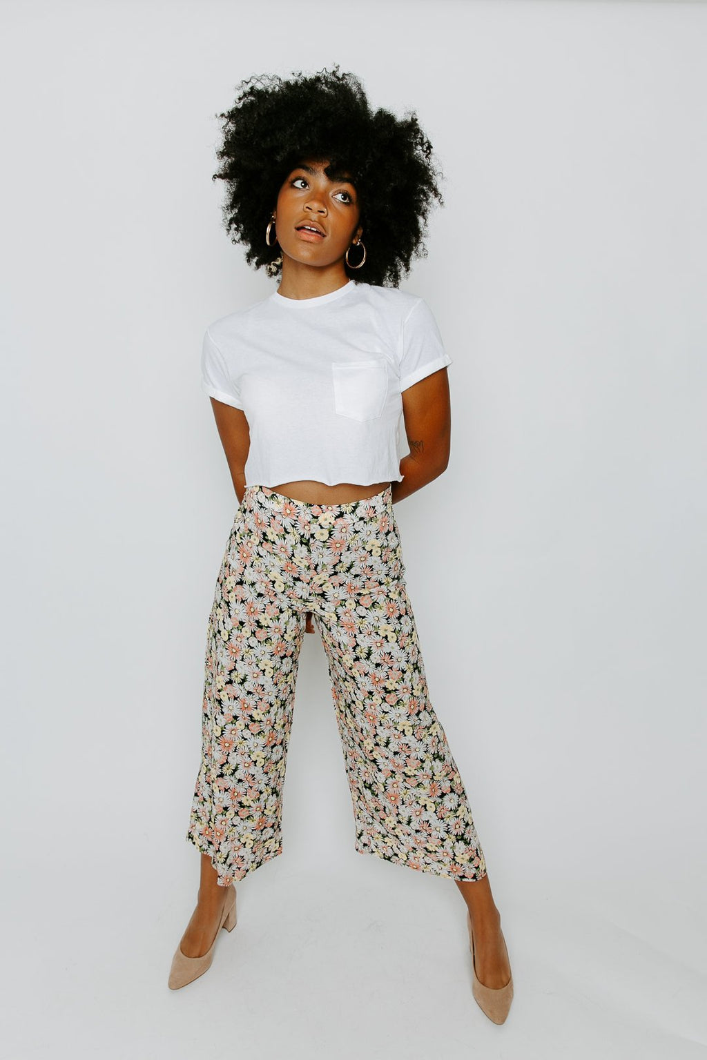 THE GROOVE CROP PANT