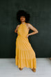 THE COPE HALTER MAXI - MARIGOLD