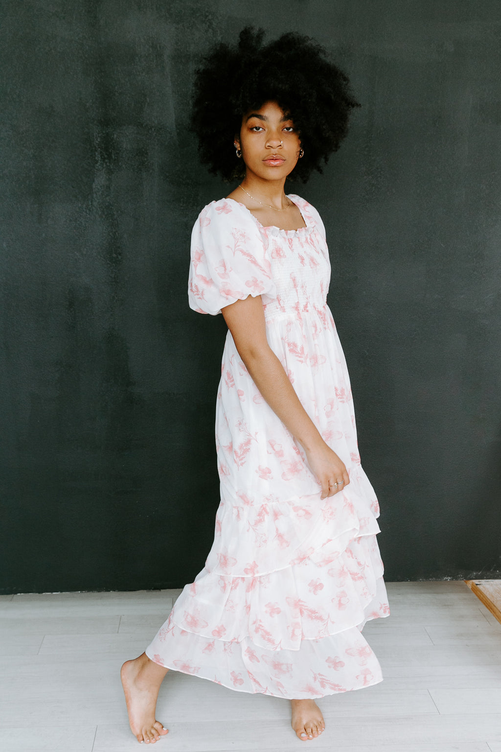 FREE THE ROSES MAXI DRESS