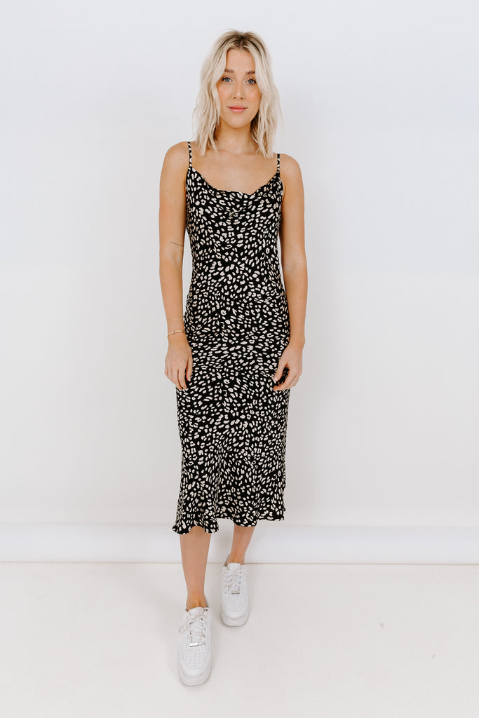 PANTHER SLIP DRESS