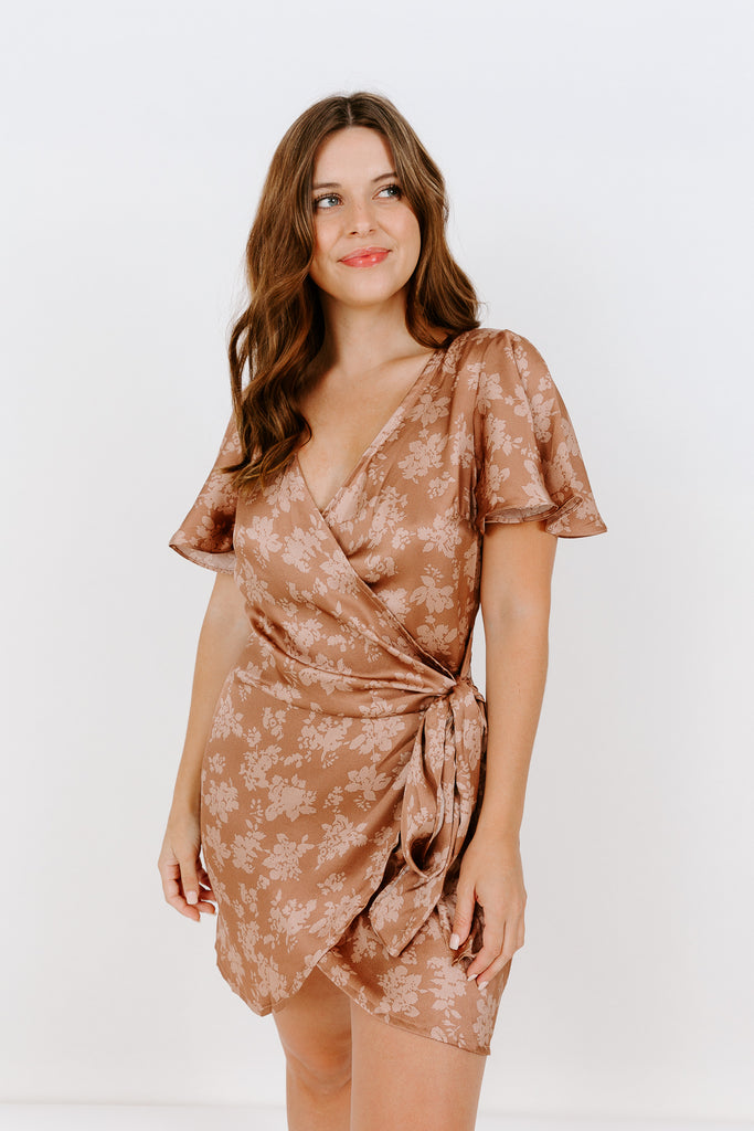 TULIP WRAP DRESS