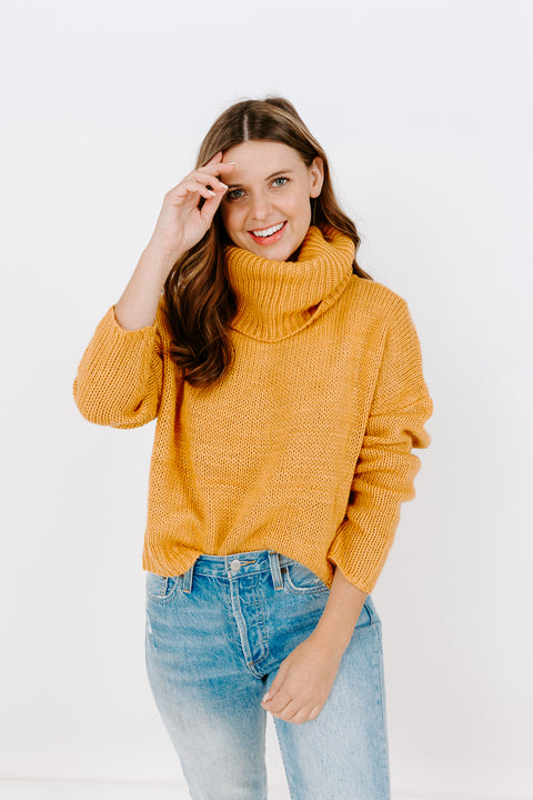 COLBY CUT OUT SWEATER