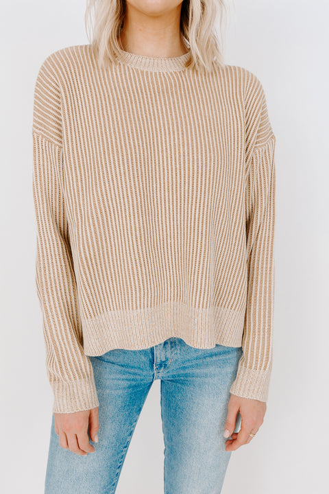 PERRY RIB SWEATER